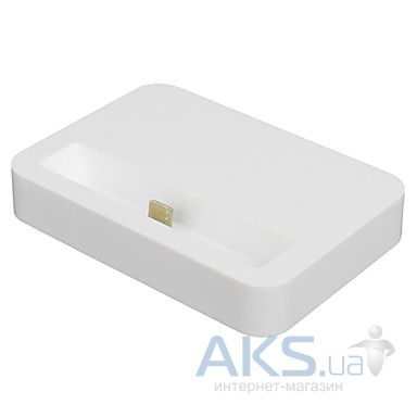 Док-станция Apple Dock station for iPhone 5/5S White