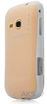 Чехол Capdase Soft Jacket Xpose White for Samsung S6500 Galaxy Mini II