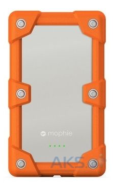 Внешний аккумулятор Mophie Juice Pack Universal Powerstation Pro 6000 mAh Orange (2052-JPU-PWRSTION-PRO-ORG)