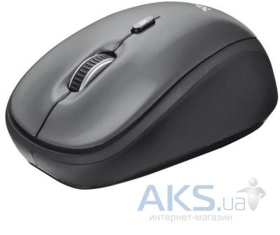 Компьютерная мышка Trust Yvi Wireless Mini Mouse (18519) Black