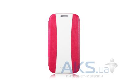 Чехол Gissar Energy For Samsung Galaxy I9500 S4 Pink White