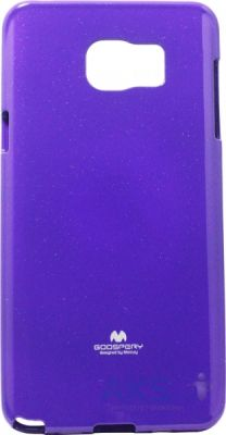 Чехол Mercury Jelly Color Series Samsung N920 Galaxy Note 5 Violet