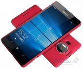 Вид 2 - Чехол Nillkin Super Frosted Shield Microsoft Lumia 950 XL Red