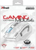 Компьютерная мышка Trust GXT 155W Gaming Mouse - white camouflage (20852) White