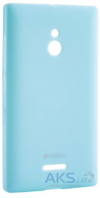 Чехол Melkco Poly Jacket TPU Case for Nokia XL Blue