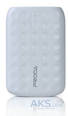 Внешний аккумулятор power bank Remax Proda Lovely series PowerBank 10000 mAh White
