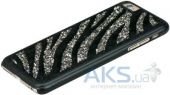 Вид 2 - Чехол Bling My Thing Infinity Dots Flip for Apple iPhone 6 GLAM! Zebra Black Diamond Colour (BMT-IP6-GM-BK-ZBR)