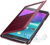 Вид 2 - Чехол Samsung S View для Galaxy Note 4 Red (EF-CN910BREGRU)