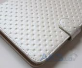 Вид 6 - Обложка (чехол) Saxon Case для PocketBook Touch 622/623/624/626/614/660 Pearl White