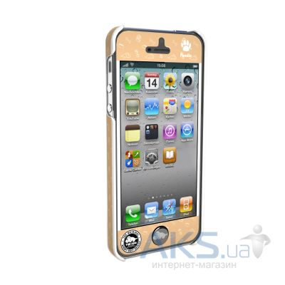 Вид 2 - Чехол Qual The Dog Apple iPhone 5, iPhone 5S, iPhone 5SE Poodle (QL1111PD)