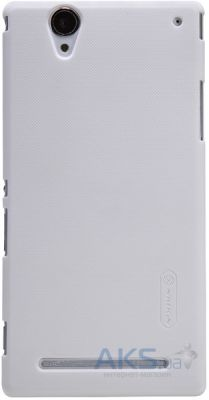 Чехол Nillkin Super Frosted Shield case for Sony Xperia T2 white