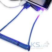 Вид 2 - Кабель USB LED Spring micro Yellow