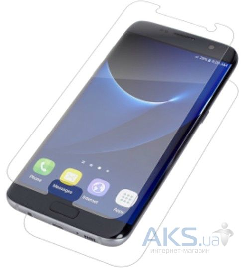 Защитная пленка Nillkin Screen Protector Samsung G935 Galaxy S7 Edge Matte (Front + back)