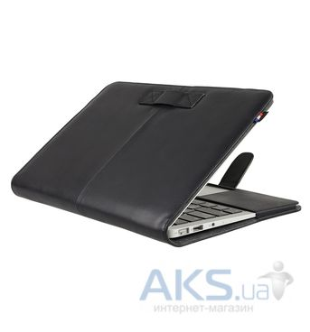 Чехол Decoded Leather Slim Cover for MacBook Pro Retina 15 Black (D4MPR15SC1BK)
