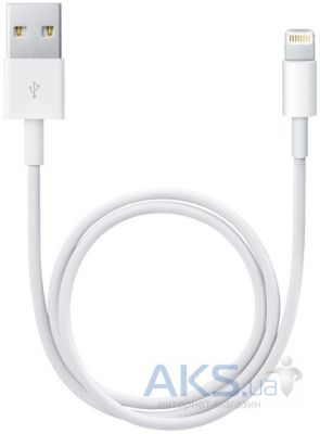 Кабель USB Apple Lightning to USB Cable 0,5M White (ME291ZM/A)