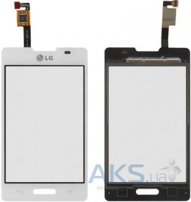 Сенсор (тачскрин) для LG Optimus L4 E440 Original White