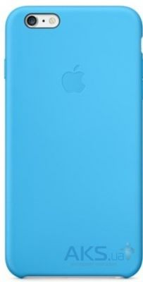 Чехол Apple Silicone Case iPhone 6 Blue (MGQJ2)