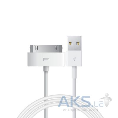 Кабель USB Hoco 30pin Dock Cable White (UP301)