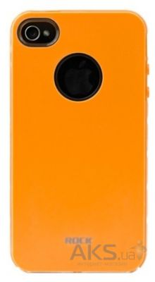 Чехол Rock Invigorate Series Apple iPhone 4, iPhone 4S Orange