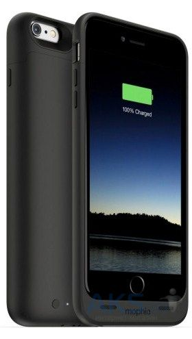 Внешний аккумулятор Mophie Juice Pack 2600 mAh for iPhone 6 Plus/6S Plus (3084-JP-IP6P-BLK) Black