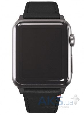 Decoded Napa Leather Apple Watch 38 (D5AW38SP1BK) Black