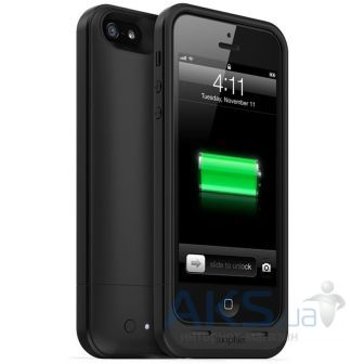 Внешний аккумулятор Mophie Juice Pack Air Case Black 1700 mAh for iPhone 5/5S