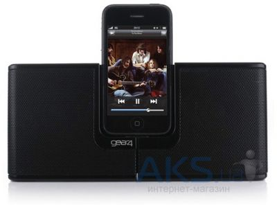 Колонки акустические Gear4 Portable Speaker Dock Street Party Revolve for iPhone/iPod (PG466)