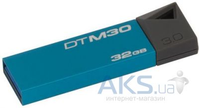 Флешка Kingston DT Mini 32GB USB 3.0 (DTM30/32GB) Blue