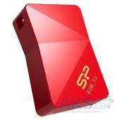 Вид 2 - Флешка Silicon Power 8Gb Jewel J08 Red USB 3.0 (SP008GBUF3J08V1R)