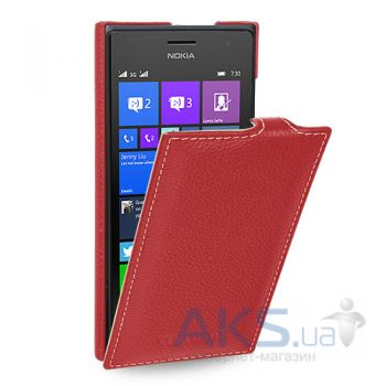 Чехол TETDED Flip Leather Series Microsoft Lumia 730, Lumia 735 Red