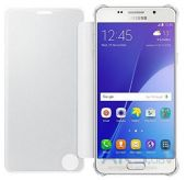 Вид 2 - Чехол Samsung Clear View Cover Series A510 Galaxy A5 2016 Silver (EF-ZA510CSEGRU)