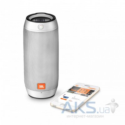 Колонки акустические JBL Pulse 2 Splashproof Silver (JBLPULSE2SILEU)