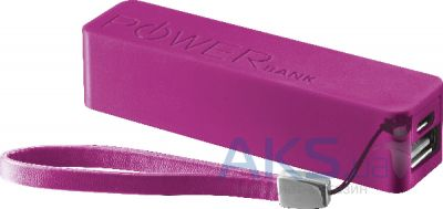 Внешний аккумулятор Urban Revolt Power Bank Portable Phone Charger 2200mAh Fuchsia