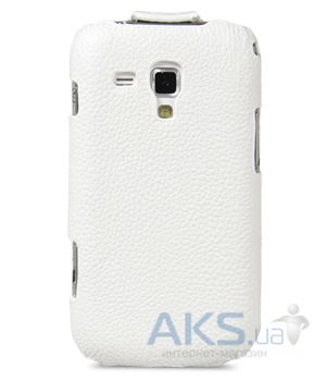Вид 3 - Чехол Melkco Jacka leather case for Samsung S7562 Galaxy S DuoS White (SS7562LCJT1WELC)