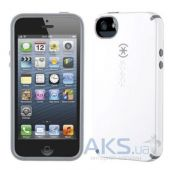 Чехол Speck CandyShell Apple iPhone 5, iPhone 5S, iPhone SE White/Charcoal Mini (SPK-A1560)