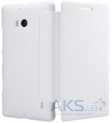 Чехол Nillkin Sparkle Leather Series Nokia Lumia 930 White
