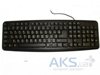 Клавиатура Codegen KB-1808 slim, USB Black
