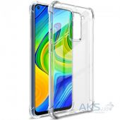 Чохол 1TOUCH Strong TPU Xiaomi Redmi Note 9 Transparent