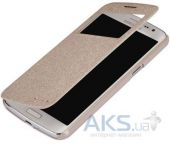 Вид 2 - Чехол Nillkin Sparkle Leather Series Samsung G7102 Galaxy Grand 2 Gold