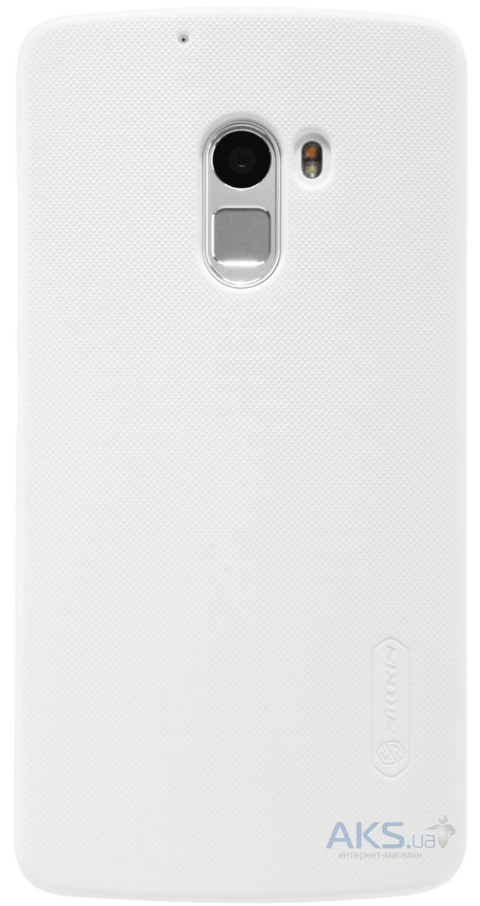 Чехол Nillkin Super Frosted Shield Lenovo A7010 X3 Lite, K4 Note White