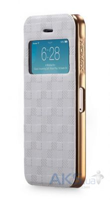 Чехол Momax Haute Couture case for iPhone 5/5S White [HVAPIP5SW]