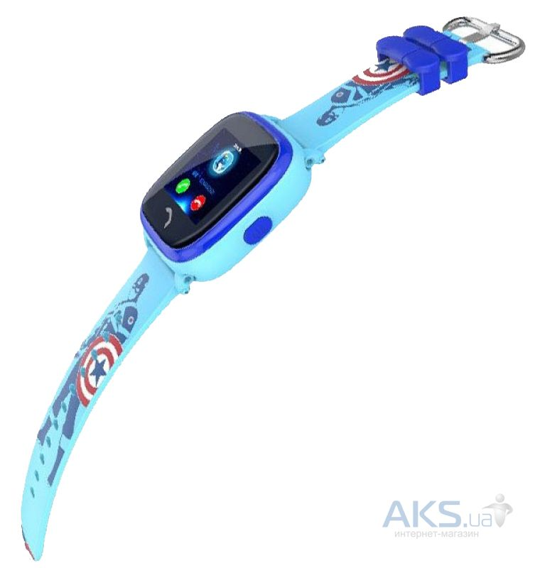 Дитячий розумний годинник (з GPS) SmartWatch SMART BABY WATCH DF25G WATERPROOF  Blue 95489be968b24