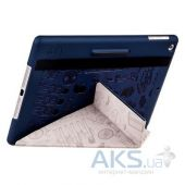 Вид 2 - Чехол для планшета Ozaki O!coat Travel London for iPad Air 2 Blue (OC119LD)