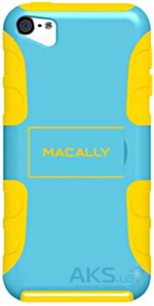 Чехoл Macally Stand Series Apple iPod Touch 5G Yellow/Blue (TANKBL-T5)