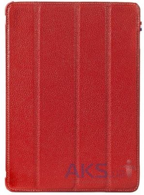 Чехол для планшета Decoded Leather Slim Cover for iPad Air 2 Red (D4IPA6SC1RD)