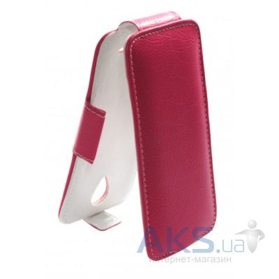 Чехол Sirius flip case for Lenovo A398T+ Pink