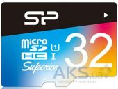 Вид 2 - Карта памяти Silicon Power 32GB microSDHC Class 10 UHS-I Superior COLOR + SD Adapter (SP032GBSTHDU1V20SP)
