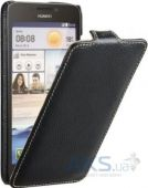 Вид 3 - Чехол Avatti Slim Flip Huawei Ascend G730D Black
