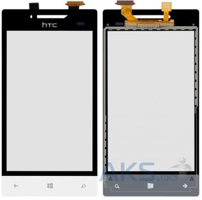 Сенсор (тачскрин) для HTC 8S A620e Windows Phone Original White
