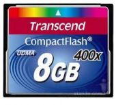 Карта памяти Transcend 8 GB 400X CompactFlash Card TS8GCF400